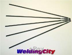 WeldingCity 5-pcs Cast Iron Repair Stick Welding Rod 3/32x12 Nickel-55 ENiFe-C1