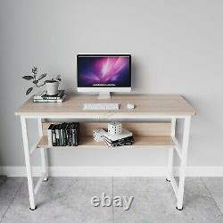 WestWood Compact Computer Desk With Shelf PC Laptop Table Workstation Home CD19