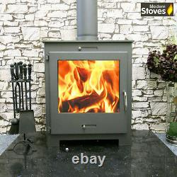 Wood Burning Multi Back Boiler Stove 16kw iStove Lux for Vented or Unvented