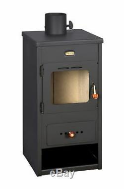 Wood Burning Stove Solid Fuel Log Burner Fireplace Top Flue 8 kw Prity K1 Optima