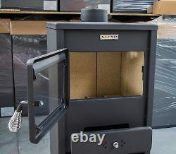 Wood burning stove Log Burner KUPRO Style made in EU 8,4Kw Heating Power
