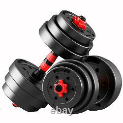 Zeno Fitness 30kg Dumbells Pair Of Weights Barbell/dumbbell Body Building Set